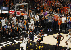 Giannis Antetokounmpo Dunks in Game 5 of NBA Finals (NBAE Getty Images).jpg